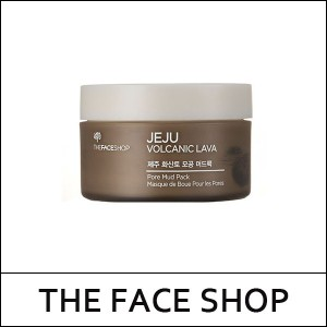 [THE FACE SHOP] THEFACESHOP ★ JEJU Volcanic Lava Pore Mud Pack 100ml / Sebum control