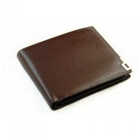 Fashion Stylish Casual Mens Male PU Leather Wallet Card Collector Bifold Purse Coffee H10156K