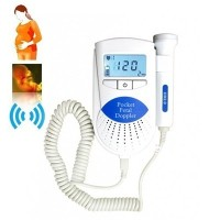 Free Shipping - Ultrasound Baby Heart Rate Monitor- Sonoline B Fetal Doppler with LCD