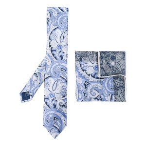 Brioni - printed tie and pocket square - men - シルク - ワンサイズ