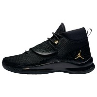 (取寄)ジョーダン メンズ スーパーフライ 5 PO Jordan Men's Super.Fly 5 PO Black Metallic Gold Black Anthracite