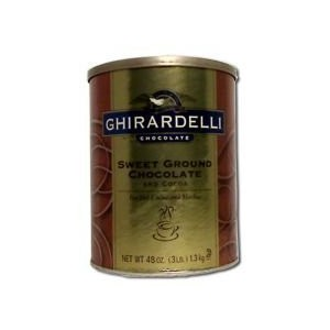 Ghirardelli Sweet Ground Chocolate and Cocoa Powder, 3 Pound -- 6 per case. by Ghirardelli [並行輸入品]