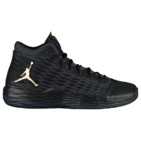 (取寄)ジョーダン メンズ メロ M13 Jordan Men's Melo M13 Black Metallic Gold Anthracite