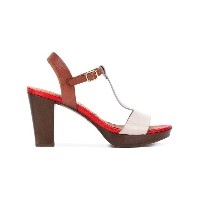 Chie Mihara - contrast sandals - women - レザー/Foam Rubber - 36