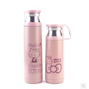Cartoon Kitty Hello Kitty vacuum stainless steel thermos cup