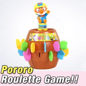 Pororo Roulette Game★ Children boy girl birthday gift outdoor play toys character animation crong...