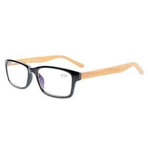 (Eyekepper) Eyekepper Readers Quality Spring Hinges Bamboo Temples Computer Reading Glasses