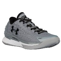 Under Armour Curry 1 Lowキッズ/レディース Graphite/Metallic Silver/Black アンダーアーマー カリー1ロー バッシュ ステフィン・カリー