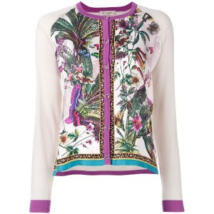 Etro - floral embroidered jacket - women - シルク/ウール - 42