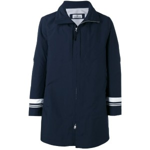 Stone Island - Marina stripe tank shield coat - men - ポリエステル/ポリウレタン樹脂 - L