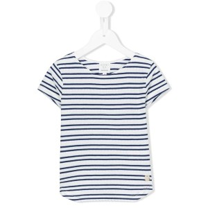 Carrèment Beau - striped knitted top - kids - コットン - 2歳