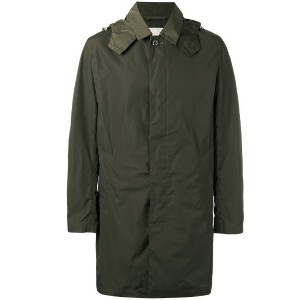 Mackintosh - single breasted hooded coat - men - ナイロン - 40
