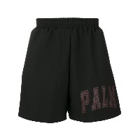 Palm Angels - logo shorts - men - ポリエステル - L
