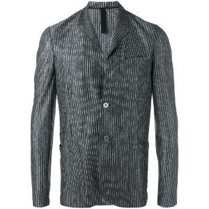 Harris Wharf London - patch pockets striped blazer - men - リネン - 46