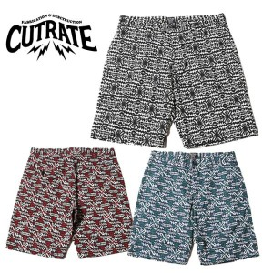 CUT RATE カットレイト GEOMETRIC PATTERN SHORTS 総柄ショーツ