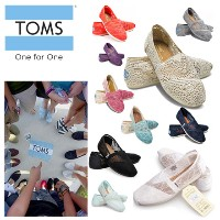【国内配送】【送料無料】選べる2タイプ:TYPE-5.TOMS SHOES Crochet Womens Classics ・TYPE-6.TOMS SHOES Lace Womens Classic