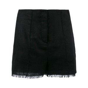 Etro - fringed shorts - women - シルク - 38