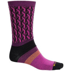 ウィグワム Wigwam メンズ インナー ソックス【Eastside Socks - Merino Wool, Crew】Hot Magenta