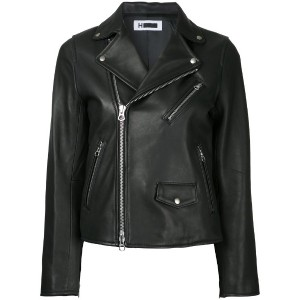 H Beauty & Youth - biker jacket - women - レザー - S