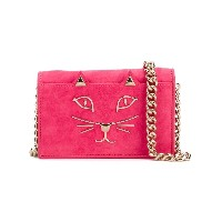 Charlotte Olympia - Little Kitty satchel - women - ゴートスキン - ワンサイズ