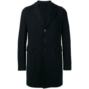 Harris Wharf London - single-breasted coat - men - コットン - 54