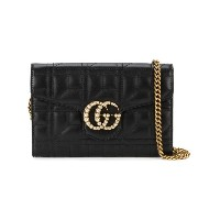 Gucci - GG Marmont 斜めがけバッグ - women - レザー/metal - ワンサイズ