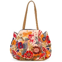 Jamin Puech - embroidered tote - women - レザー/ビスコース - ワンサイズ