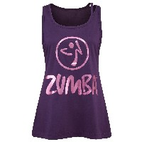 Zumba (ズンバ) Love Me Or Loose Me Tank/Purple (S) [並行輸入品]