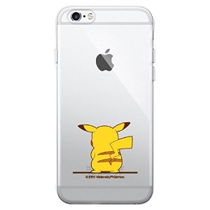 【 iPhone 6 6S 】 【 アイフォン 6 6S 】【★フィルム付き/24時間以内日本国内発送】【 正規品 ポケモン ピカチュウ クリア ケース 】 iPhone6 iPhone6S...
