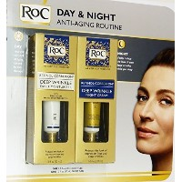 Roc Retinol Correxion Deep Wrinkle Night Cream and Daily Moisturizer Spf 30 1.0 fl oz (Combo Pack)