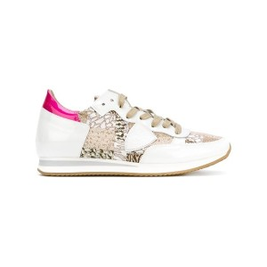 Philippe Model - 'Tropez' sneakers - women - レザー/エナメルレザー/ナイロン/rubber - 37