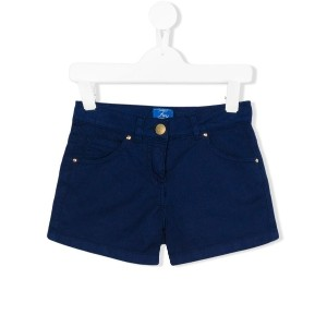 Fay Kids - denim shorts - kids - コットン/Elastodiene - 2歳