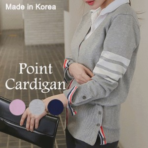 [something]Tom Knit Cardigan ★ Direct From Korea/High Quality/Tom Cardigan