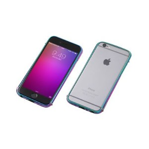 Deff Cleave Stainless Bumper for iPhone6 Polish Juelbeatle DCB-IP6SU3JBR【納期目安:追って連絡】