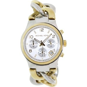 Michael Kors マイケルコース レディース腕時計 MK3199 white dial stainless steel bracelet women watch NEW