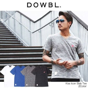 DOWBL/ダブル/Kiss Icon Slab Tee【全4色】