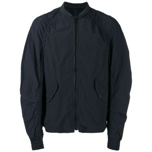 Kolor - ribbed neck bomber jacket - men - ポリエステル - 3