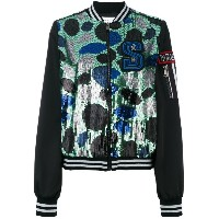 Isabelle Blanche - spot sequin bomber jacket - women - ポリエステル - S