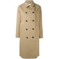 Mackintosh - button front trench coat - women - コットン - 36