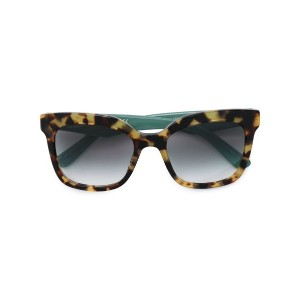 Prada Eyewear - square frame sunglasses - women - アセテート - 53