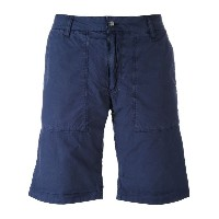 Woolrich - reversible camouflage shorts - men - コットン - 38