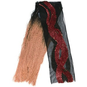 Rockins - sequins snake scarf - women - ナイロン - ワンサイズ