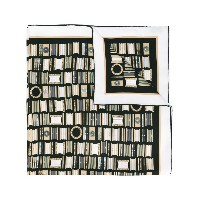 Bulgari - patterned scarf - women - シルク - ワンサイズ