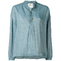 Forte Forte - front placket shirt - women - リネン - III