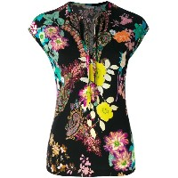 Etro - floral and paisley blouse - women - ビスコース - 44