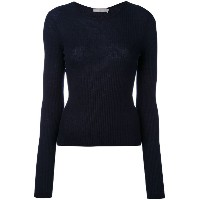 Vince - rib cropped sweater - women - カシミア - M