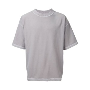 monkey time - exposed seam T-shirt - men - コットン - L