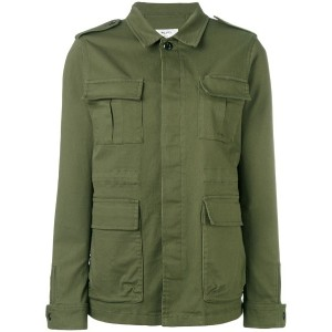 Vis A Vis - military shirt jacket - women - コットン/ポリウレタン - 3