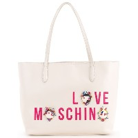 Love Moschino - Cartoon print shopper bag - women - ポリウレタン - ワンサイズ