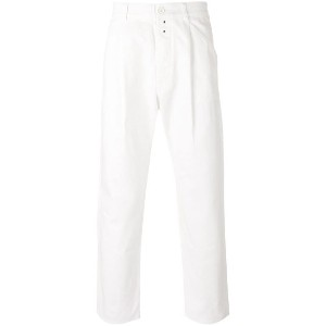 Ganryu Comme Des Garcons - regular trousers - men - コットン - M